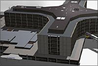 3D bild på Helsingborgs lasarett