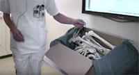 Begravning av skelett